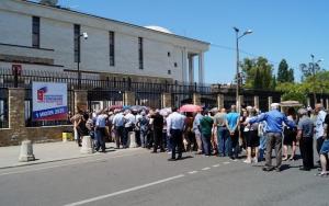 Жители Абхазии голосуют по поправкам в Конституцию России