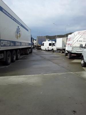 На абхазо-российской границе по двое суток простаивают фуры с мандаринами