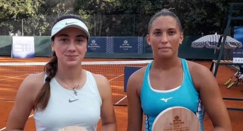 Амина Аншба и Панна Удварди выиграли еще один теннисный турнир в Аргентине