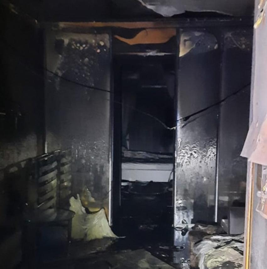 Пожар произошел в жилой квартире в Гагре