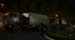 Мобильный госпиталь Минобороны России прибыл в столицу Абхазии
