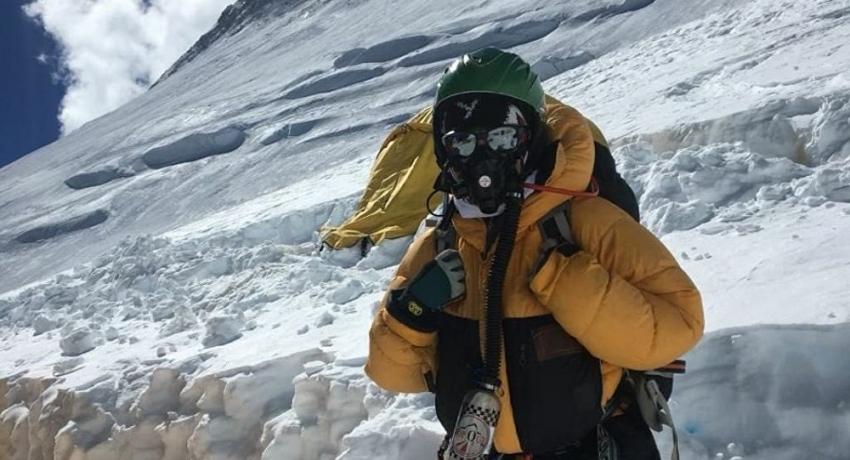 Альпинистка из Абхазии впервые покорила вершину горы Манаслу в Непале