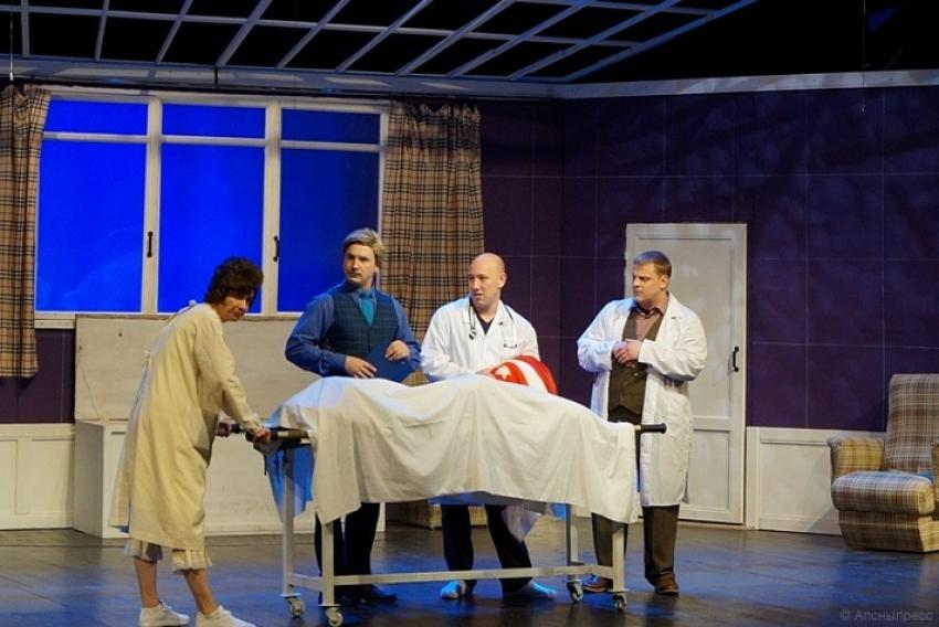 В РУСДРАМе прошел предпоказ спектакля «Клинический случай»
