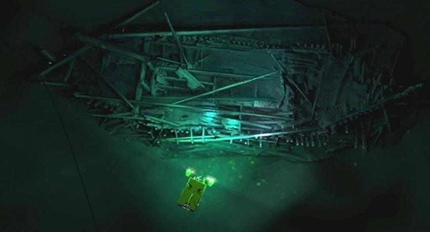 На дне Черного моря найден корабль, затонувший более двух тысяч лет назад