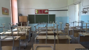 «Школьные» митинги в Абхазии