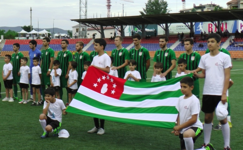 Сборная Абхазии и ДНР сыграют в Сухуме