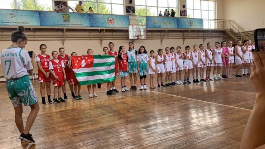 Сухумский «Спартак» занял второе место на турнире по баскетболу в Краснодарском крае