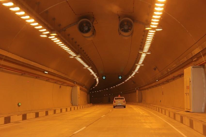Три тоннеля обхода Сочи закроют для проезда на две недели