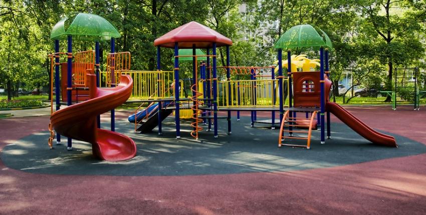 Детская площадка в Гагре