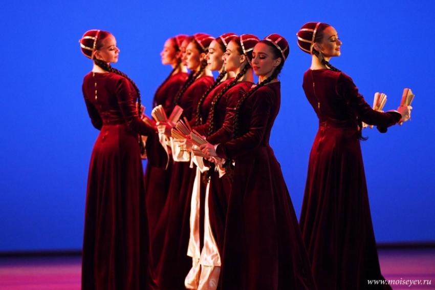 Ансамбль танца Игоря Моисеева выступит в Абхазии 25 и 26 мая