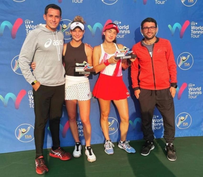 Амина Аншба в паре с Елизабет Мандлик выиграли турнир ITF в Йоханнесбурге