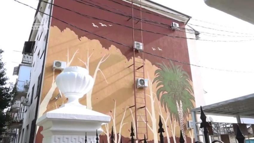 Мурал - как новый вид искусства в Сухуме