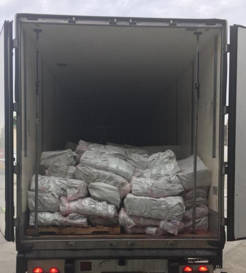 Российские таможенники выявили факт невывоза партии из 42 тонн табака для кальяна, следовавшей транзитом в Абхазию
