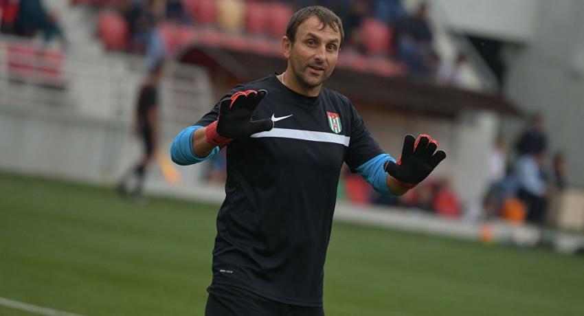 Алексей Бондаренко рассказал, как отразил пенальти в финале Кубка Абхазии: помогло чутье