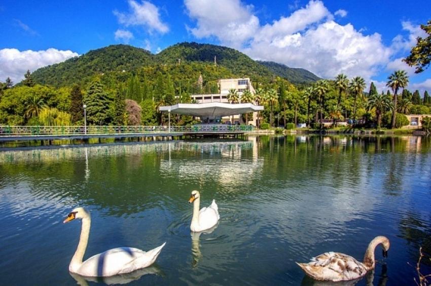 Совсем не осень: в Абхазии 21 сентября тридцать градусов тепла