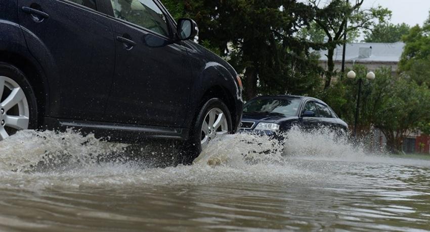 Три улицы Гудауты и село Абгархыку затопило во время продолжительных ливней
