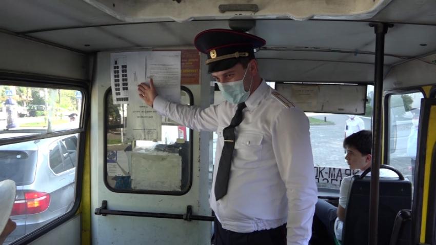 МВД проводит рейды по проверке соблюдения санитарных норм в общественном транспорте