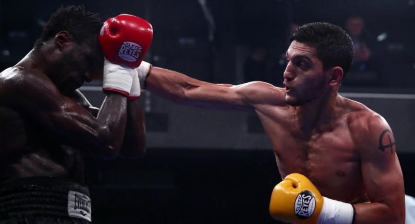 Игорь Адлейба победил боксера из Камеруна в рейтинговом бою в Екатеринбурге