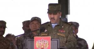 Евкуров проинспектировал ход подготовки к зимнему обучению военной базы РФ в Абхазии