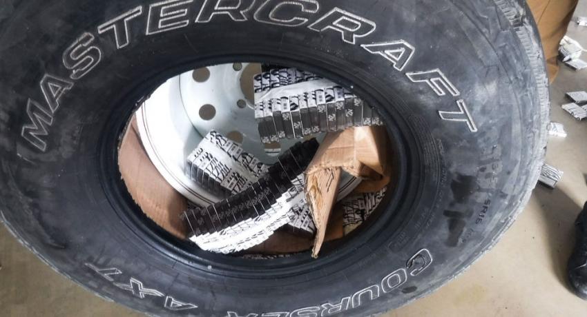 Накачал табаком: сочинец пытался в колесах ввезти из Абхазии партию сигарет