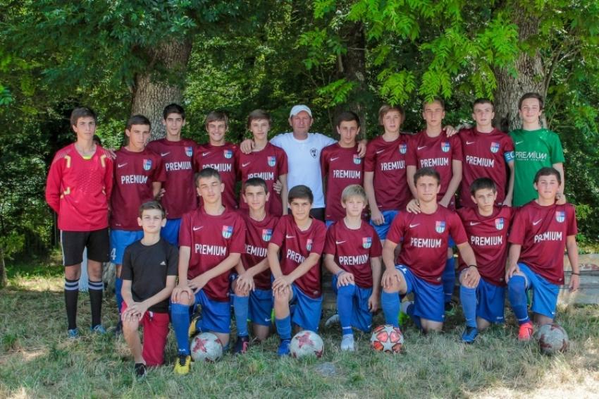 «Рица» стала победителем футбольного турнира в Новороссийске