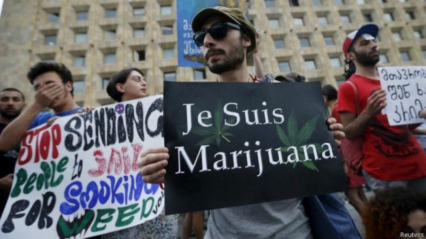 Кандидат в президенты Грузии Зураб Джапаридзе задержан на фестивале марихуаны