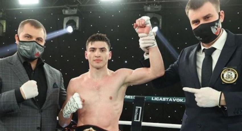Харитон Агрба завоевал региональный титул WBA по боксу