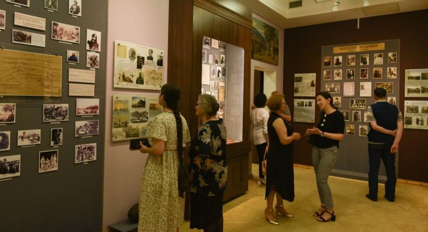 Ночное открытие: новый зал появился в Абхазском Госмузее