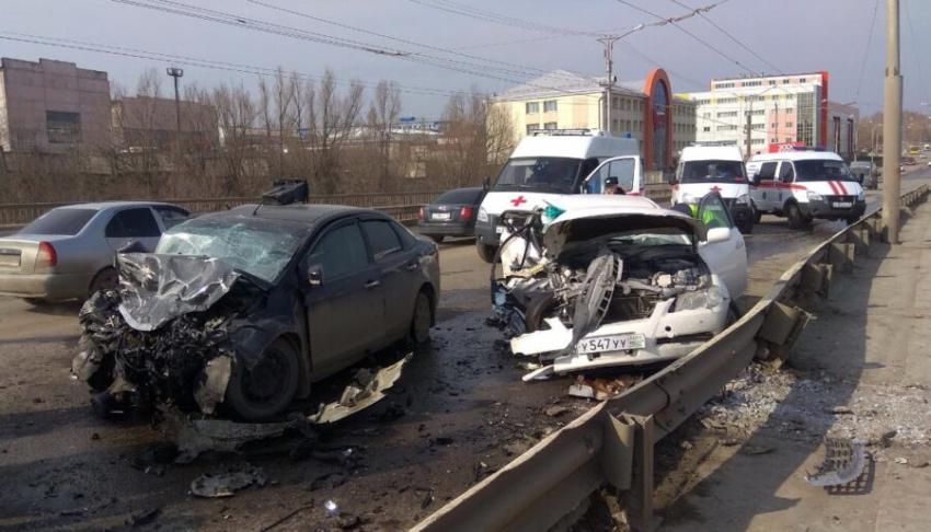 В Саранске машина с абхазскими номерами совершила ДТП