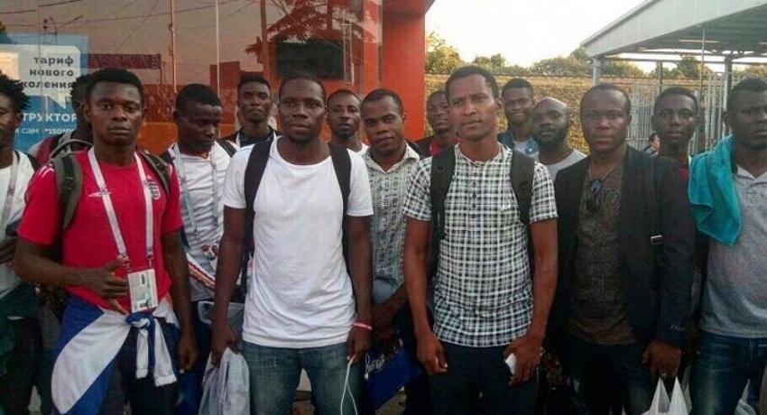 Как дома: футболисты сборной Нигерии поделились впечатлениями об Абхазии