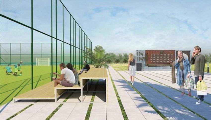 Местные жители при поддержке ВААК восстанавливают парк в селе Адзюбжа