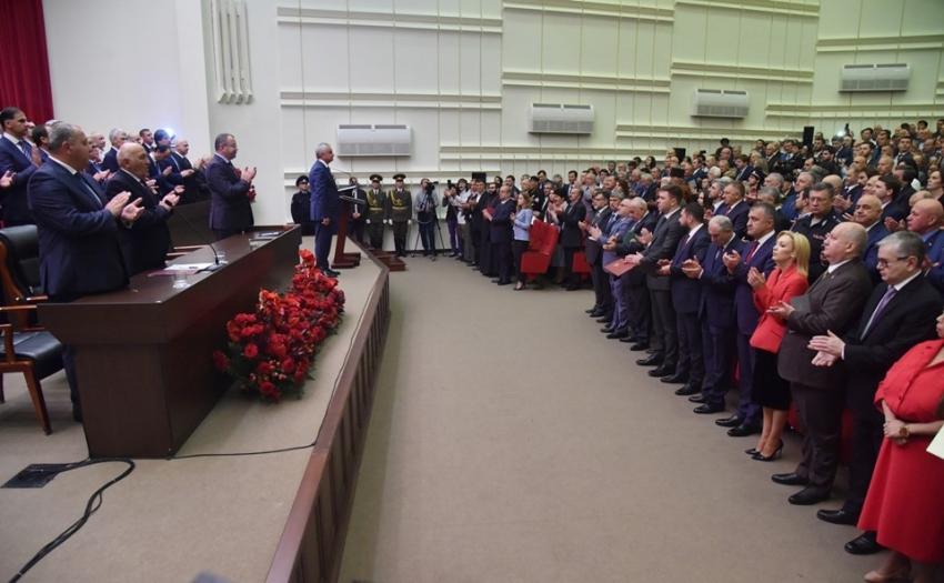 Инаугурация Президента Республики Абхазия Рауля Хаджимба 9 октября 2019 г.