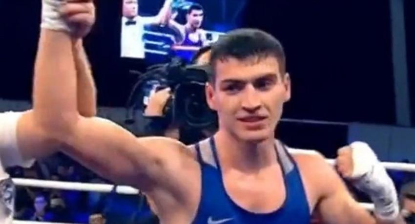 Боксер Харитон Агрба победил олимпийского чемпиона из Кубы