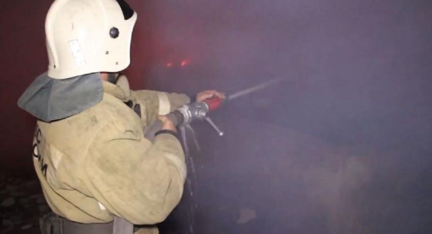Пожар произошел в кинотеатре санатория ПВО в Сухуме