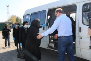 Государственную границу с Грузией открыли для пенсионеров