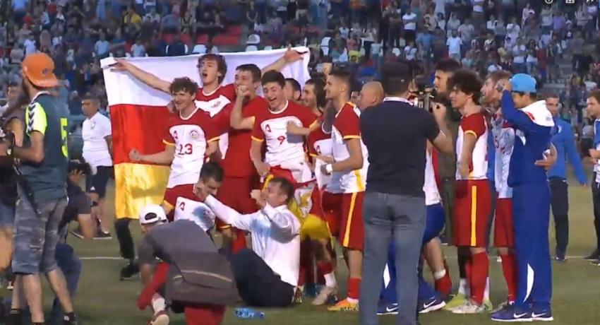 Южная Осетия стала чемпионом Европы ConIFA-2019