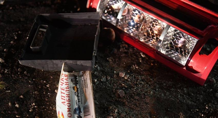 Авария в Гудаутском районе: пострадали 13 человек