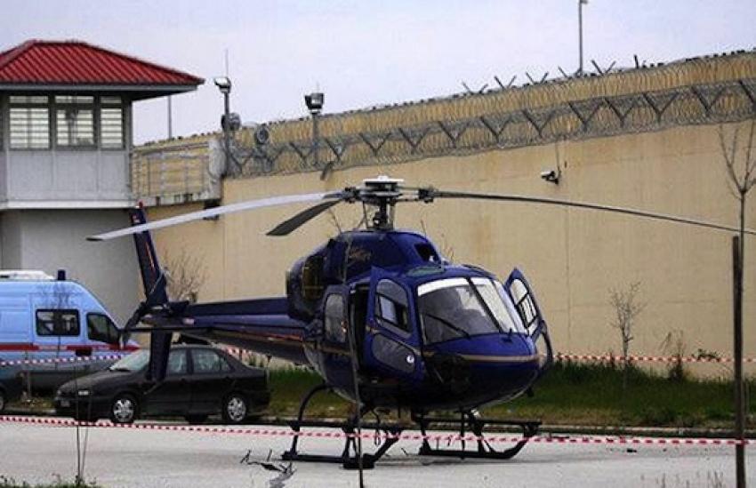 Во Франции гангстер-рецидивист бежал из тюрьмы на вертолете