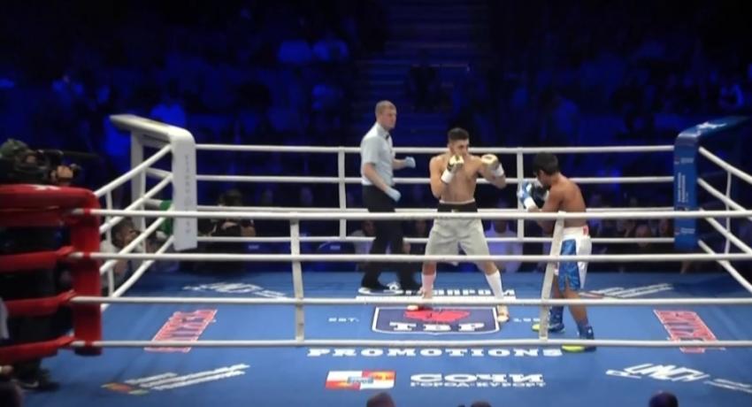 Игорь Адлейба победил филиппинца в рейтинговом бою в Сочи