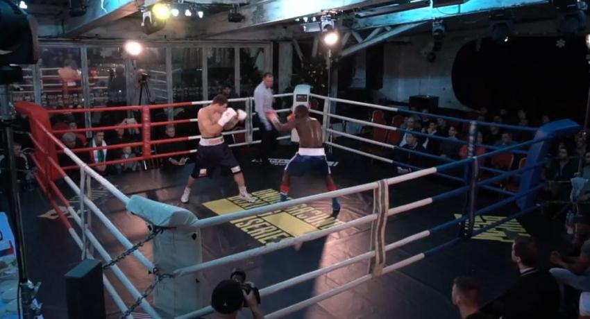 Батал Чежия отправил боксера из Танзании в нокаут