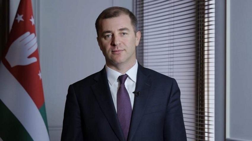 Адгур Ардзинба на встрече с личным составом МВД Абхазии 20.02.2020