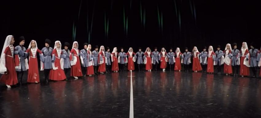Детские хореографические коллективы Абхазии – призеры Международного конкурса «ART Arenа»