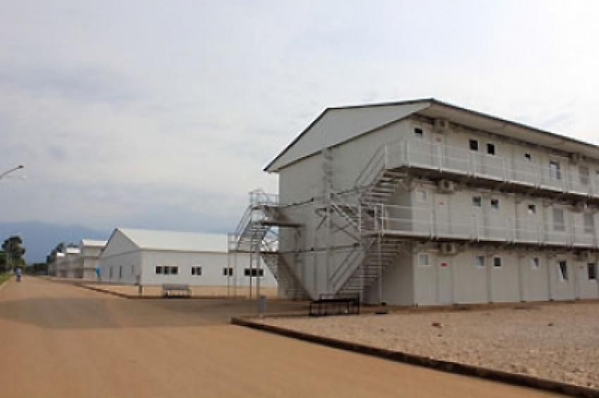Поножовщина на 7-ой военной базе в Гудауте
