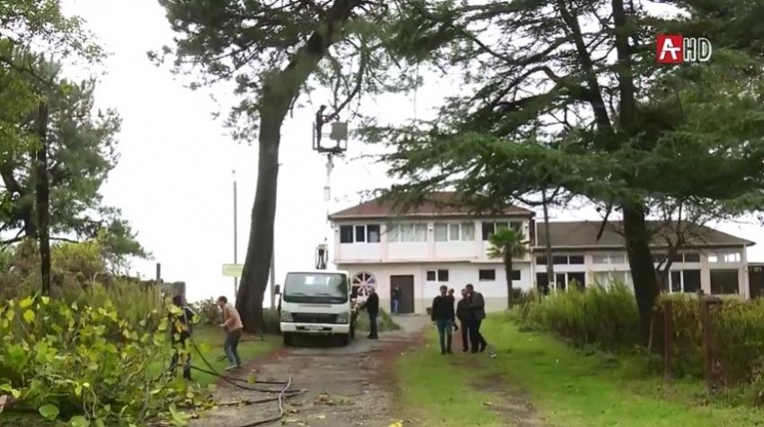 Продолжаются работы по улучшению энергоснабжения Очамчыры