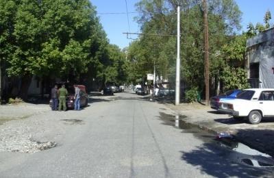 Ремонт дороги на улице Абазинской в Сухуме